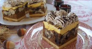 Mákos diós guba sütemény
