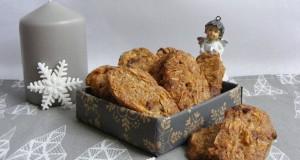 Csokidarabos, mandulás keksz