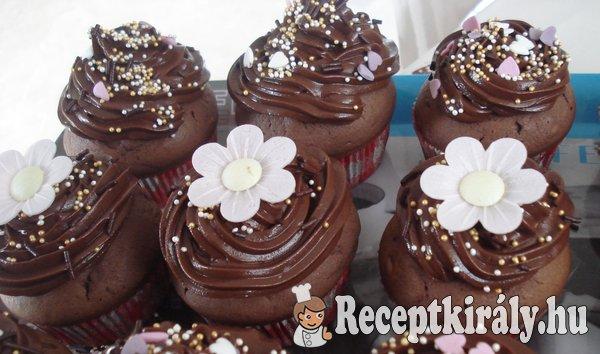 Csokikrémes muffin 1