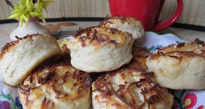 Villámgyors füstölt sajtos pogácsa