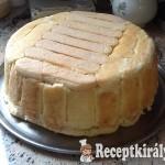 Vaníliás gyümölcstorta sütés nélkül 1