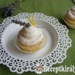 Levendulás-citromos muffin