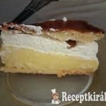 Franciakrémes torta