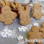 Karácsonyi mézes keksz 1