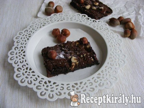 Mogyorós brownie