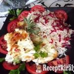 Tepsiben sült sertéskaraj sajttal sonkával és céklás rizzsel 3