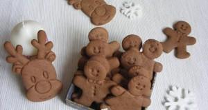 Karácsonyi kakaós-mézes keksz
