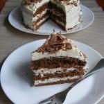 Kávés-mascarponés tiramisu torta 1