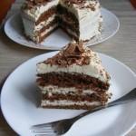 Kávés-mascarponés tiramisu torta 3
