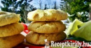 Lime-kókusz keksz