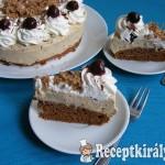 Rumos meggyes gesztenye torta 1