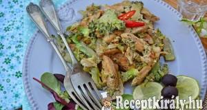 Brokkolis mustáros csirke – paleo