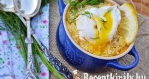 Citromos kapros tojásleves – paleo