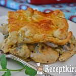 Gombás csirkés pite Nigellától 2
