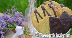 Svéd csokis kókuszos flarn – paleo