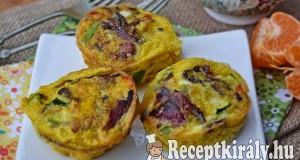 Tojás muffin – paleo