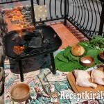 Grillezett csirkecomb juhtúróval töltve 1
