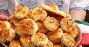 Krumplis pogácsa Lelle mama módra