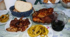 Szőlősgyöröki tárcsás húsok