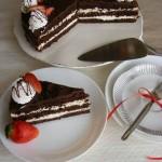 Csokoládétorta tejszínes túrókrémmel 1