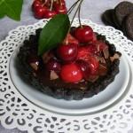 Cseresznyés-csokis mini pite sütés nélkül 2