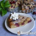 Cseresznyés-csokoládés joghurtos pite 3