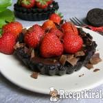 Epres-oreós-csokoládés minipiték sütés nélkül 2