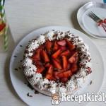 Epres túrókrém torta 1