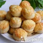 Pihe-puha sajtos pogácsa