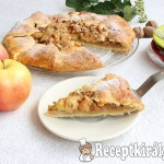 Rusztikus almás pite 2
