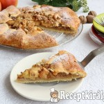Rusztikus almás pite 3