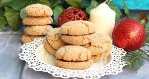 Fahéjas-juharszirupos keksz