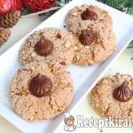 Roppanós mogyorós keksz 1