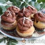 Márványos muffin csokoládékrémmel 2