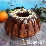 Csokoládés-narancsos márványos kuglóf 1