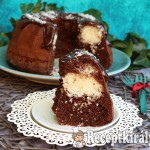 Kókuszos brownie kuglóf 1