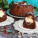 Kókuszos brownie kuglóf 3