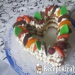 Szívecske torta 1