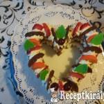 Szívecske torta 2