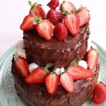 Túrókrémes csokoládétorta 1